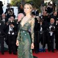 "Poppy Delevingne - Montée des marches du film ""Carol"" lors du 68e Festival International du Film de Cannes, le 17 mai 2015."