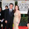Josh Brolin et Diane Lane lors des Golden Globes 2012