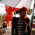 Exclusif - Stacey King (The Voice 3) pose lors d'une soirée à la suite Sandra and Co au 63 la Croisette à Cannes, le 19 mai 2015.