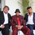 Joe Jackson, invité sur la terrasse Sandra and Co au 63 La Croisette lors du 68ème festival international du film de Cannes, le 19 mai 2015.
