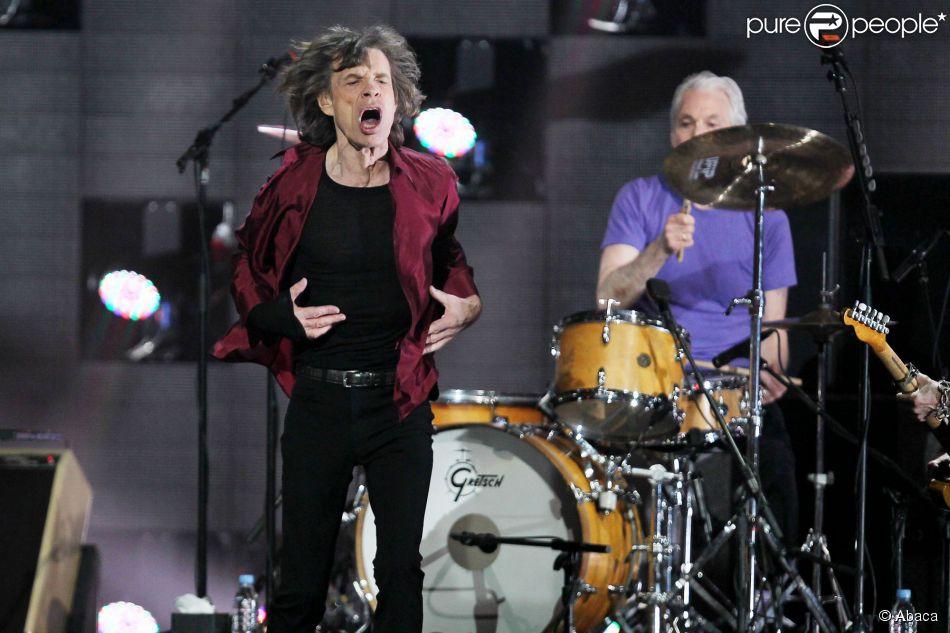 The Rolling Stones au Madison Square Garden à New York, le 12 décembre 2012.
