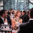 Marc Jacobs, à l'honneur, et Anna Wintour assistent au Parsons 2015 Fashion Benefit au River Pavillon du Jacob K. Javits Convention Center. New York, le 19 mai 2015.