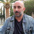 Gaspar Noé en interview avec Purepeople à Cannes le 21 mai 2015.