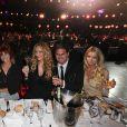 Exclusif - Le jury de la finale du concours de mannequinat  Top Model Belgium , qui se déroule au Lido à Paris, le 10 mai 2015.
