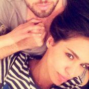 Leila Ben Khalifa et Aymeric : Pose amoureuse et selfie au naturel