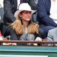 Anne Gravoin lors des Internationaux de France à Roland-Garros à Paris le 28 mai 2015 à Paris