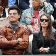 Vincent Niclo lors des Internationaux de France à Roland-Garros à Paris le 28 mai 2015 à Paris