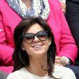 Caroline Barclay lors des Internationaux de France à Roland-Garros à Paris le 28 mai 2015 à Paris
