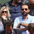 Grégory Fitoussi lors des Internationaux de France à Roland-Garros à Paris le 28 mai 2015 à Paris