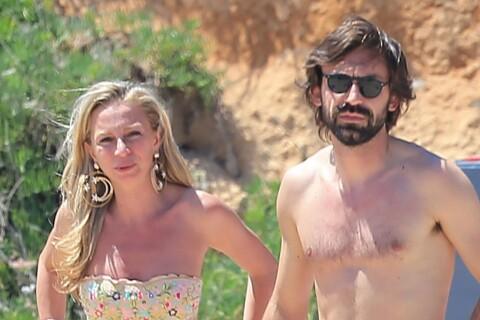 Andrea Pirlo (Juventus) et Valentina : Plage et câlins avant sa grande finale