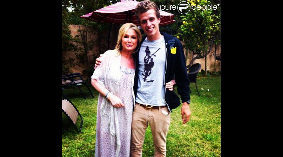 Conrad Hilton et sa mère, sur Instagram le 11 mai 2015