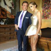 Sylvester Stallone fier : Sa superbe fille Sistine, un futur 'mannequin sérieux'