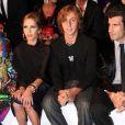 Défilé Versace : Allegra et son frère Daniel