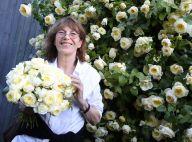 Jane Birkin : Décontractée et chic marraine d'une sublime rose crème