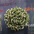 Baptême de la rose Amnesty Intertionational, dont Jane Birkin est la marraine, au jardin des Tuileries à Paris, le 4 juin 2015.