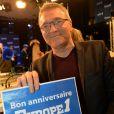 Exclusif - Laurent Ruquier participe à la journée spéciale des 60 ans de la radio Europe 1 à Paris, le 4 février 2015.