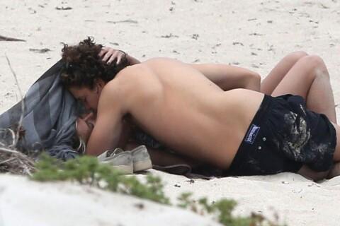 Heidi Klum et Vito Schnabel : Amoureux, ils s'encanaillent sur une plage !