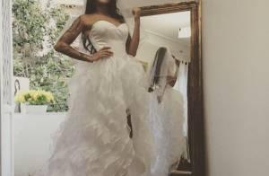 Shanna (Anges 7) : Sa robe de mariée très violemment taclée