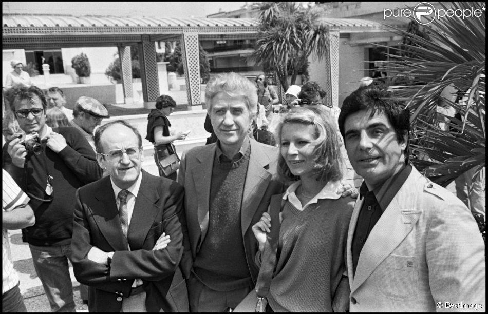 Jean Gruault, Alain Resnais, Nicole Garcia, Roger Pierre Lors De La  Pru0026eacute;