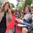 Exclusif - Shirley Bousquet - Ouverture du 4e Champs Elysées Film Festival à Paris le 9 juin 2015.