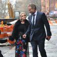 Jessica Simpson et son mari Eric Johnson ont déjeuné à New York Le 14 Mars 2015