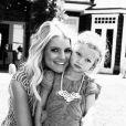 Jessica Simpson a ajouté une photo avec sa fille Maxwell sur Instagram, le 4 mai 2015