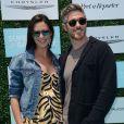 Dave Annable et sa femme Odette Annable, enceinte à la journée «OCRF's 2nd Annual Super Saturday LA» à Santa Monica, le 16 mai 2015