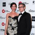 """Odette Annable et son mari Dave Annable - Soirée """"Elton John AIDS Foundation Oscar Party"""" 2015 à West Hollywood, le 22 février 2015."""