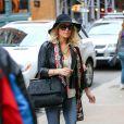 Jessica Simpson dans les rues de New York le 15 mars 2015