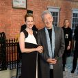 Sir Ian McKellen et Laura Linney lors de l'avant-première du film Mr. Holmes à Londres le 10 juin 2015