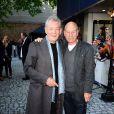 Sir Ian McKellen et Patrick Stewart lors de l'avant-première du film Mr. Holmes à Londres le 10 juin 2015