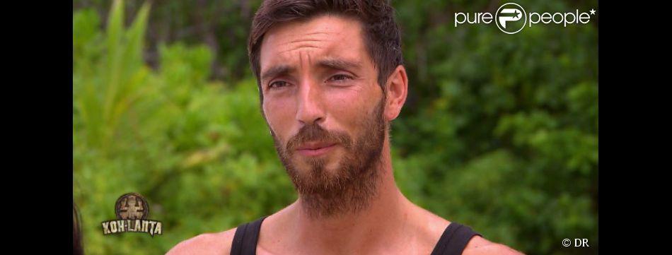 Cédric dans Koh-Lanta 2015, le vendredi 12 juin 2015, sur TF1