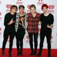 """5 Seconds Of Summer à la soirée """"iHeartRadio"""" au festival de la musique à Las Vegas, le 21 septembre 2014"""