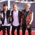 Le groupe 5 Seconds of Summer - Cérémonie des MTV Video Music Awards à Inglewood. Le 24 août 2014