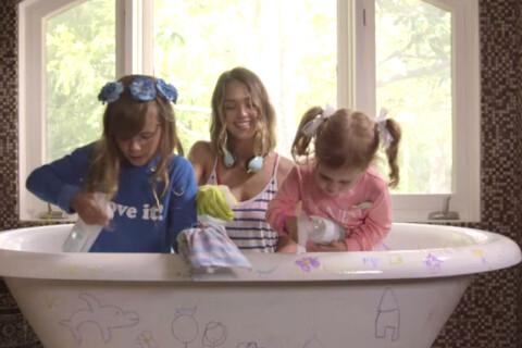 Jessica Alba : Femme de ménage avec ses filles, mais toujours glamour !