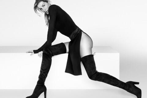 Gisele Bündchen : Nue sous sous pull pour une campagne tout en jambes