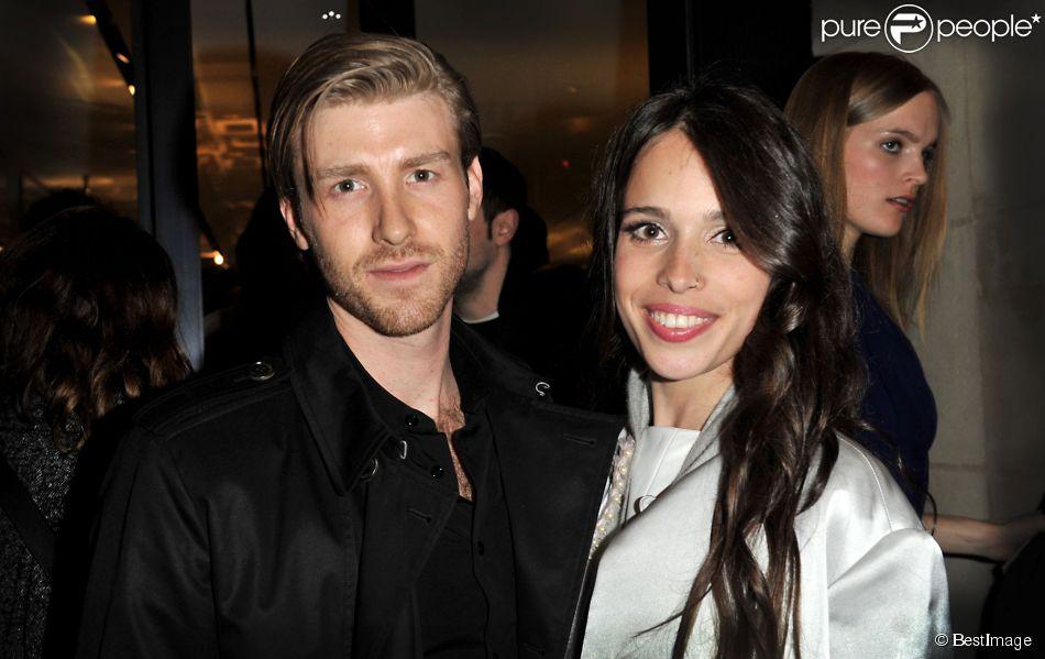 Chelsea Tyler et Jon Foster à Paris le 1er mars 2013.
