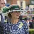 """Helen McCrory - Course hippique """"Royal Ascot 2015"""", le 16 juin 2015."""