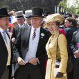 """La princesse Anne - Course hippique """"Royal Ascot 2015"""", le 16 juin 2015."""