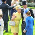 """Zara Phillips - Course hippique """"Royal Ascot 2015"""", le 16 juin 2015."""