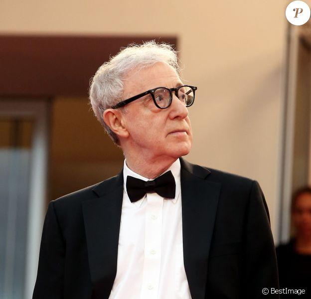 """Woody Allen - Montée des marches du film """"Irrational Man"""" (L'homme irrationnel) lors du 68e Festival International du Film de Cannes, à Cannes le 15 mai 2015."""