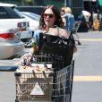Rachel Bilson, sa fille Briar et sa mère Janice en train de faire du shopping à Los Angeles le 19 juin 2015