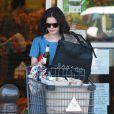 L'actrice Rachel Bilson, sa fille Briar et sa mère Janice en train de faire du shopping à Los Angeles le 19 juin 2015