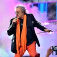 Exclusif - Patrick Hernandez, dans les arènes de Nîmes à l'occasion de la spéciale Fête de la musique de l'émission La Chanson de l'année sur TF1, le samedi 20 juin 2015.