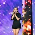 Exclusif - Louane Emera, dans les arènes de Nîmes à l'occasion de la spéciale Fête de la musique de l'émission La Chanson de l'année sur TF1, le samedi 20 juin 2015.