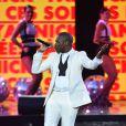 Exclusif - Yannick (Yannick M'Bolo), dans les arènes de Nîmes à l'occasion de la spéciale Fête de la musique de l'émission  La Chanson de l'année  sur TF1, le samedi 20 juin 2015.