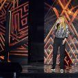 Exclusif - Léa Deléau, membre de la comédie musicale  Résiste , dans les arènes de Nîmes à l'occasion de la spéciale Fête de la musique de l'émission  La Chanson de l'année  sur TF1, le samedi 20 juin 2015.