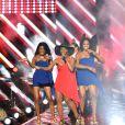 Exclusif - Le groupe Zouk Machine, dans les arènes de Nîmes à l'occasion de la spéciale Fête de la musique de l'émission  La Chanson de l'année  sur TF1, le samedi 20 juin 2015.
