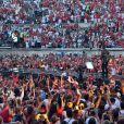 Exclusif - Kendji Girac, dans les arènes de Nîmes à l'occasion de la spéciale Fête de la musique de l'émission  La Chanson de l'année  sur TF1, le samedi 20 juin 2015.