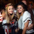 Exclusif - Louane Emera rencontre ses fans, dans les arènes de Nîmes à l'occasion de la spéciale Fête de la musique de l'émission  La Chanson de l'année  sur TF1, le samedi 20 juin 2015.